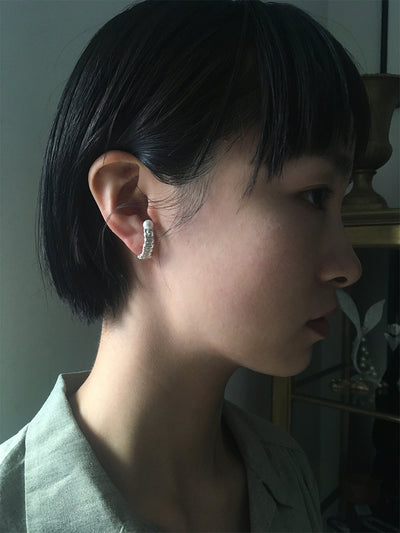 Mizuhiki & Pearls Earrings