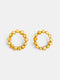 NATURAL GOLD PEARLS HOOPS