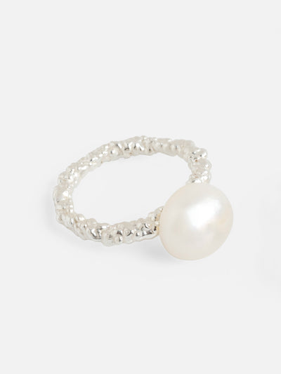 Pearl Sparkling Ring