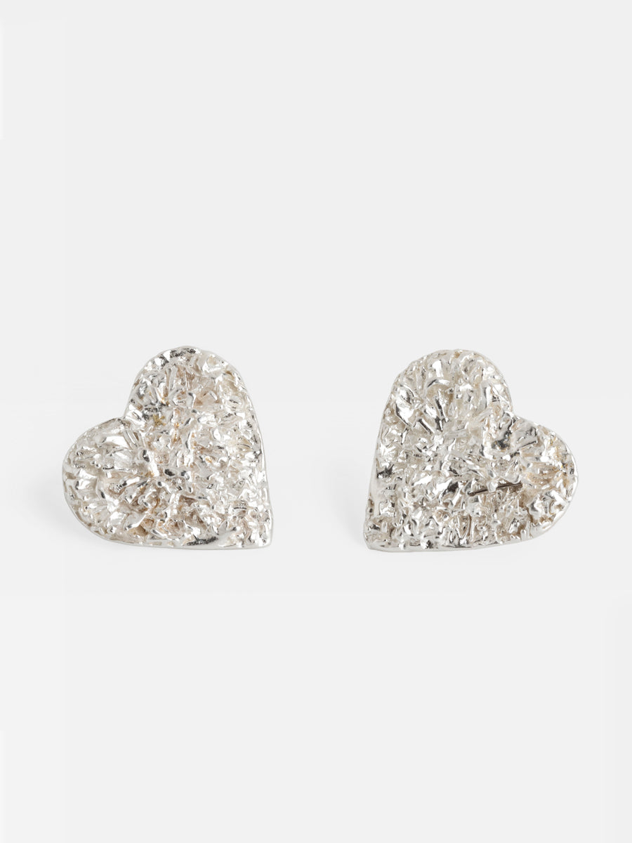 SEMI SWEET SPARKLING HEARTS EARRINGS