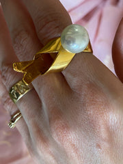 Folded Bird Ring