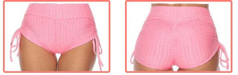Anti-Cellulite Shorts from the front and behind