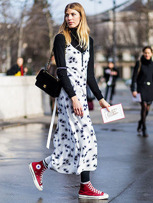 Casual and Cool Leggings & Dress Outfit
