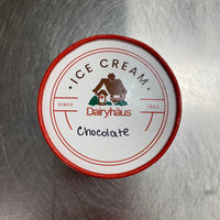a quart of chocolate ice cream