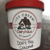 Dairy-Free Coconut Ice Cream Quart