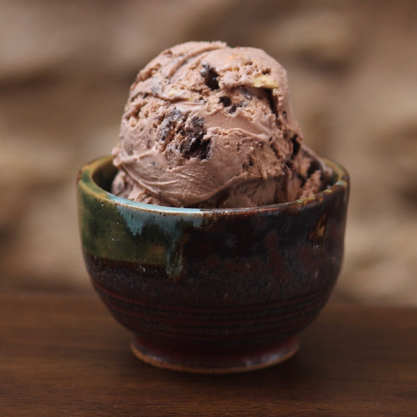 a scoop in a cup of chocolate rockton road