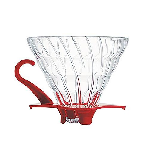 V60 Glass Dripper 02 - RED