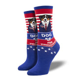 DOG FOR PRESIDENT SOCKS