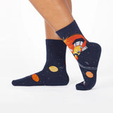 FLY ME TO THE SUN SOCKS