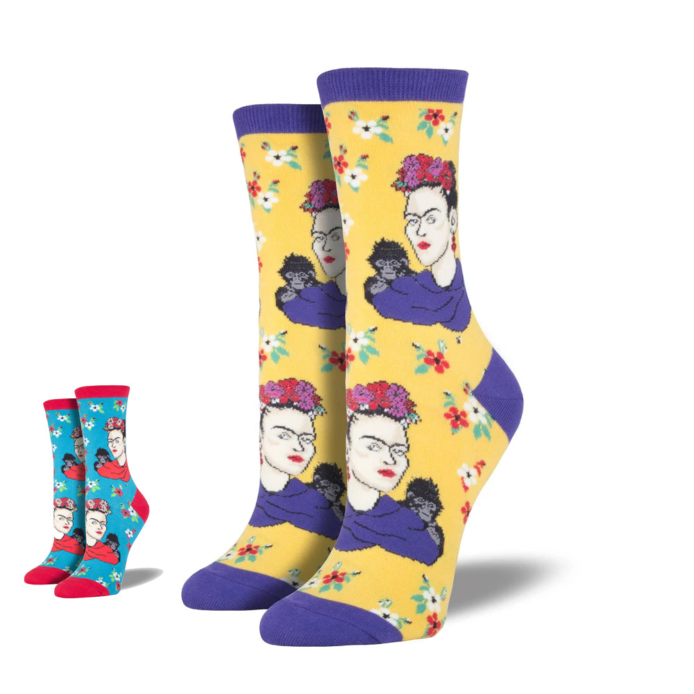 FRIDA KAHLO PORTRAIT SOCKS