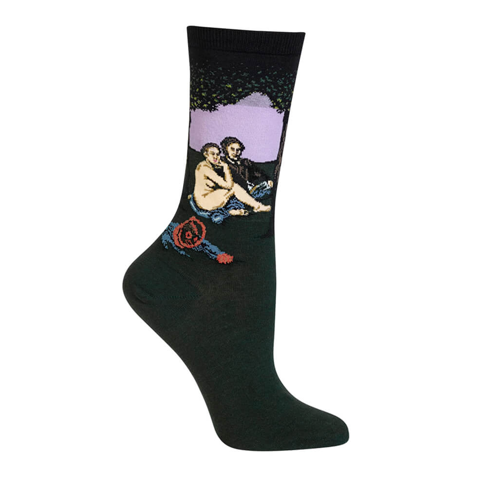 MANET'S LUNCHEON ON THE GRASS SOCKS