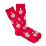 MIDDLE FINGER SOCKS