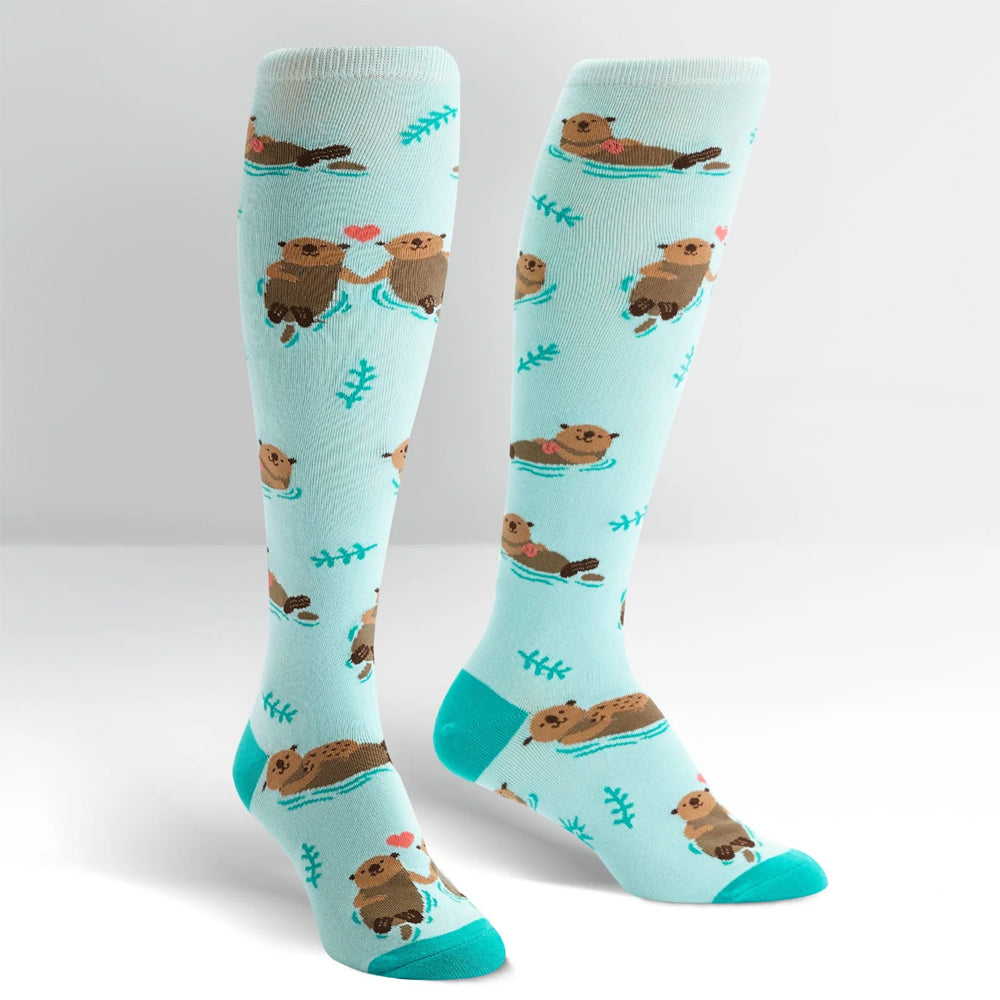 MY OTTER HALF KNEE HIGH SOCKS
