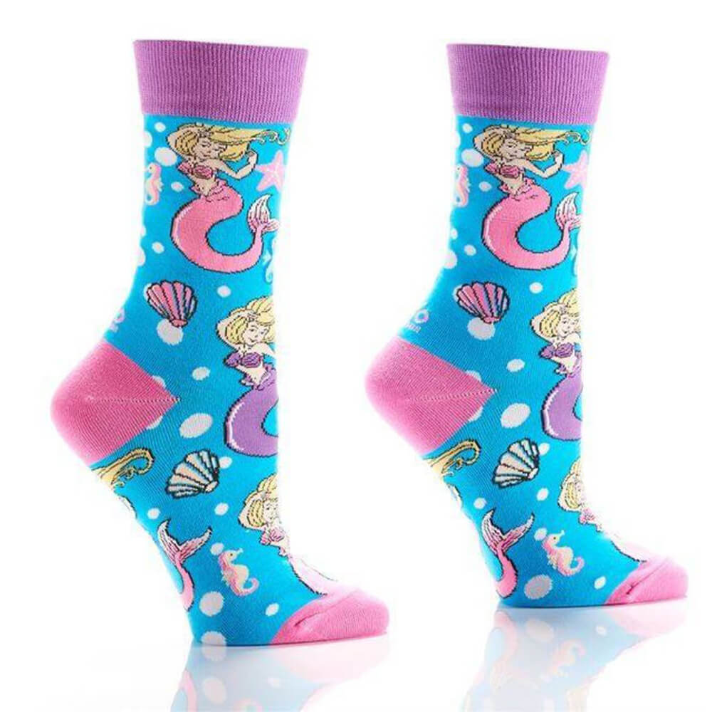 MERMAID AND SEASHELLS SOCKS