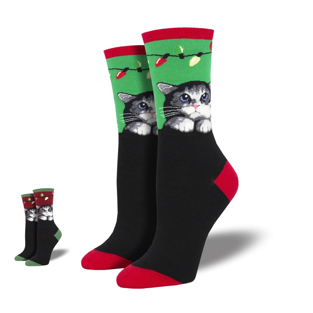 PURRTY LIGHTS SOCKS