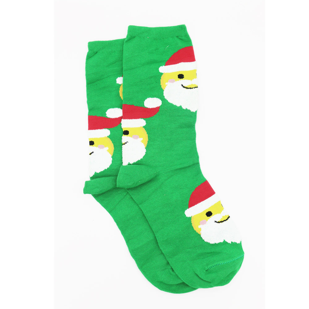 SANTA HAT SOCKS
