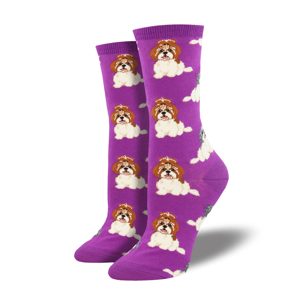I SHIH TZU NOT SOCKS