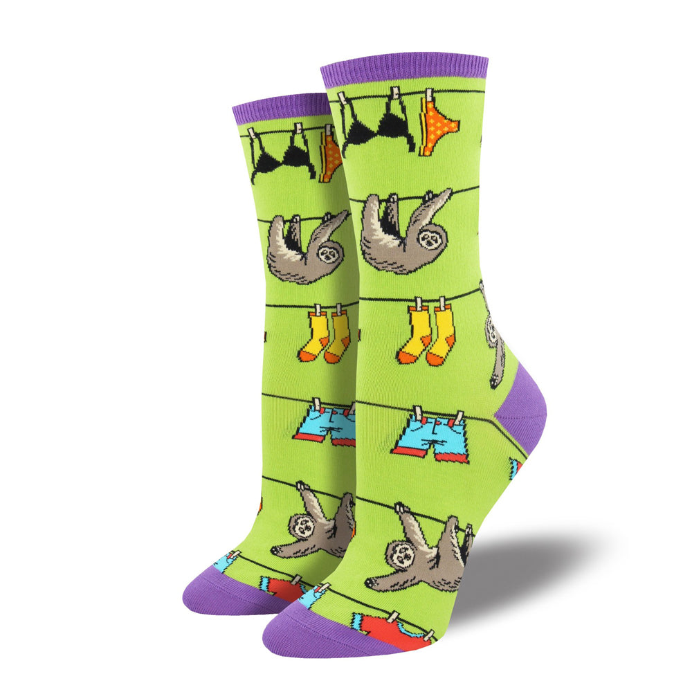 SLOTH ON A LINE SOCKS