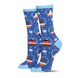 SNOW MUCH FUN SOCKS