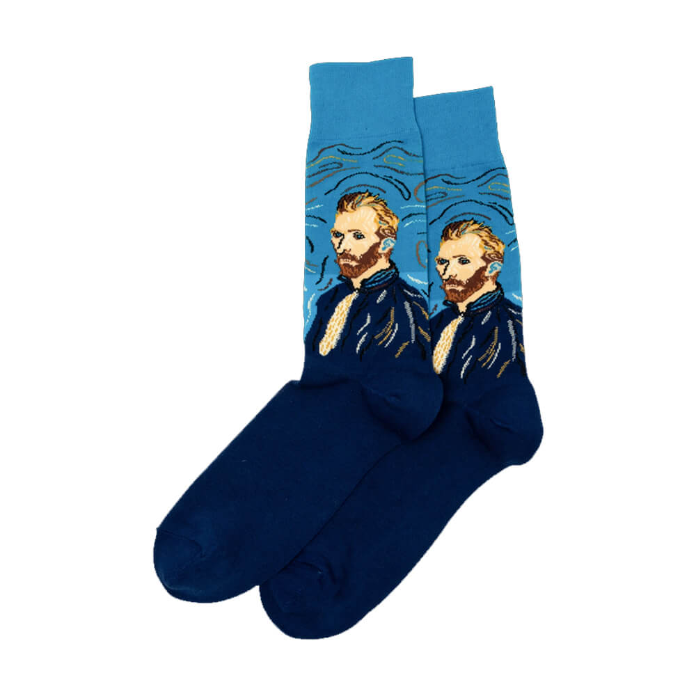 VAN GOGH SELF PORTRAIT SOCKS