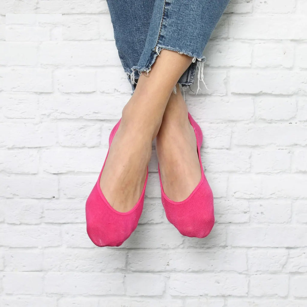 NO SHOW SOCKS-PINK