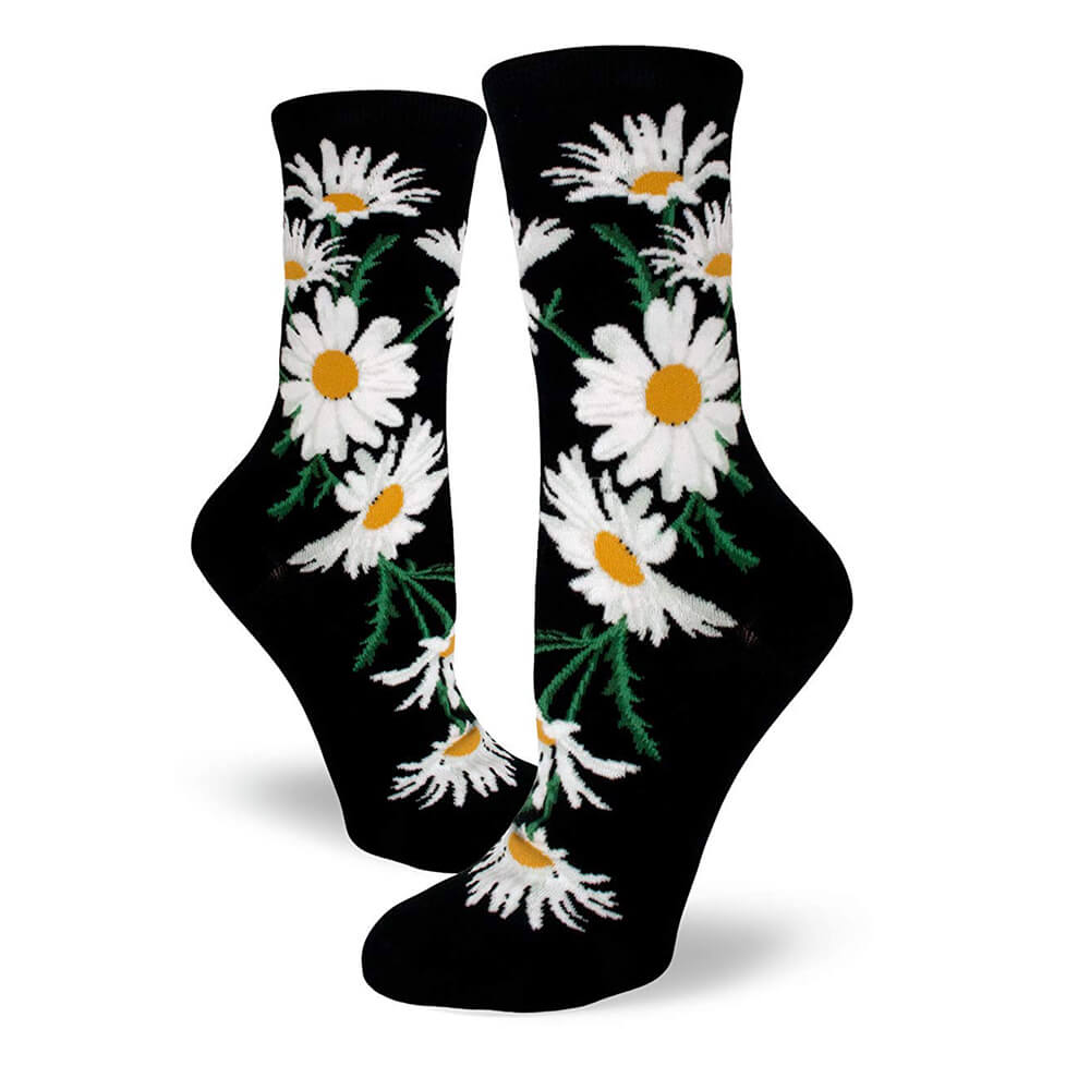 CRAZY FOR DAISIES SOCKS