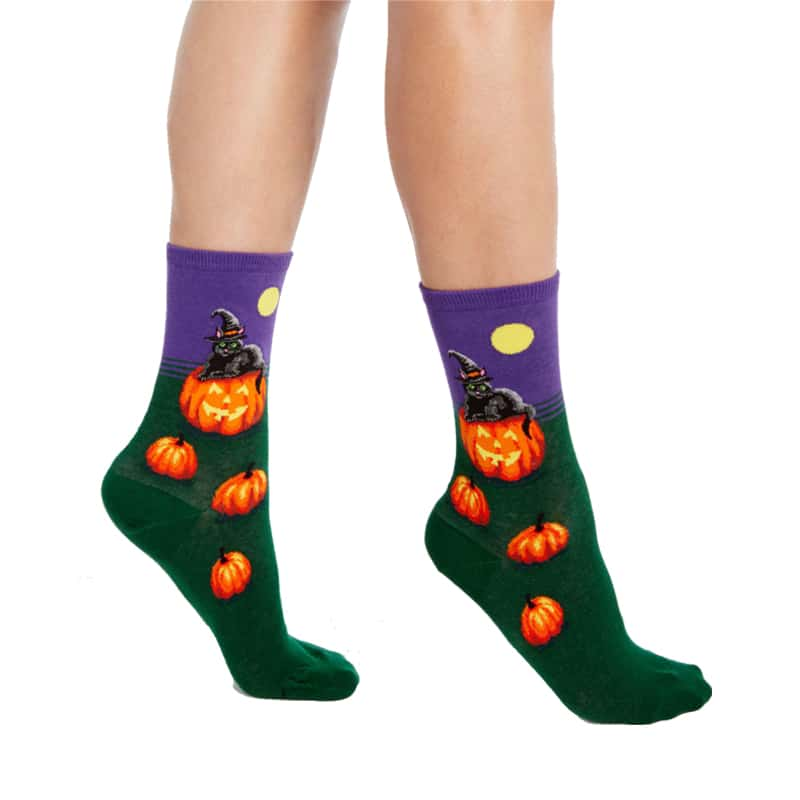 CAT WITCH SOCKS