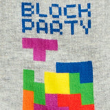 BLOCK PARTY TETRIS SOCKS