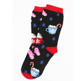 WINTER HOT CHOCOLATE SOCKS