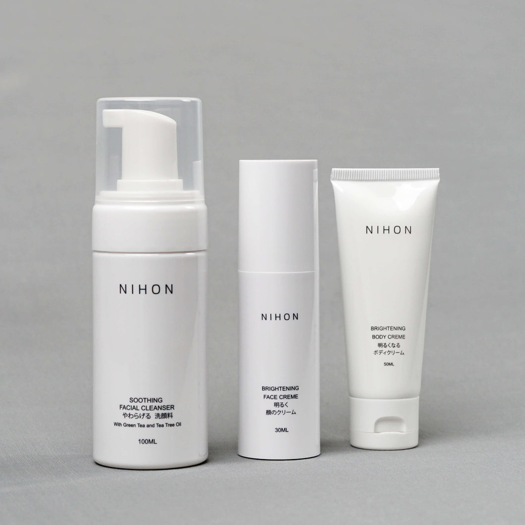 Complete Basic Set (Cleanser, Brightening Face & Body Set)