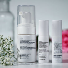 Load image into Gallery viewer, Complete Face Set (Cleanser, Brightening Face Creme & Night Repair Creme) - Travel Set
