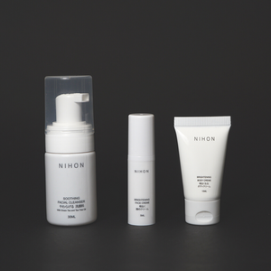 Complete Basic Set (Cleanser, Brightening Face & Body Set) - Travel Set