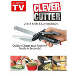 CLEVER CUTTER - KNIFE AND CUTTING BOARD IN 1