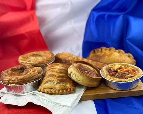 French Oven.  Pie and Pasties Selection