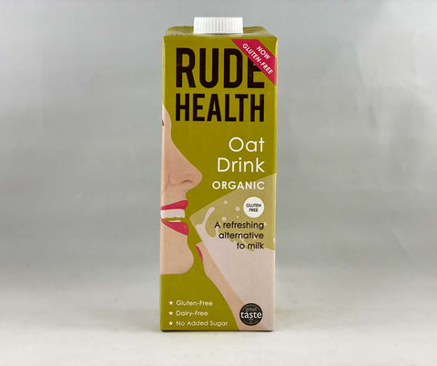 Nil Living - Oat Milk without Gluten | Organic & Without Gluten from Rude Health   1ltr