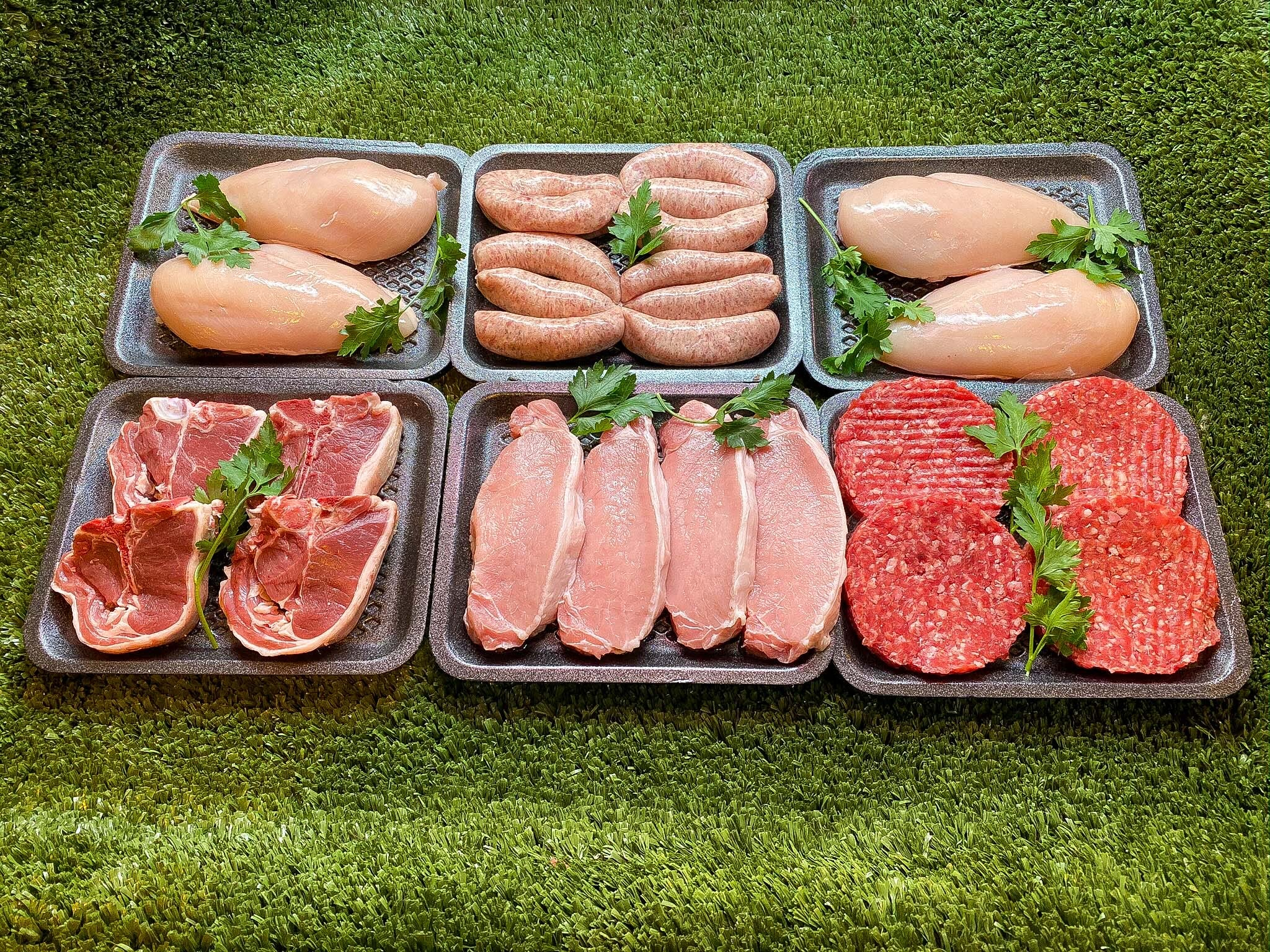 Finlay's English Meat Corner - 'Fridge Filler' Meat Pack