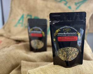 Northern Delicious : Northumbrian Smokehouse  ' Oak Smoked Chilli Super Seeds'