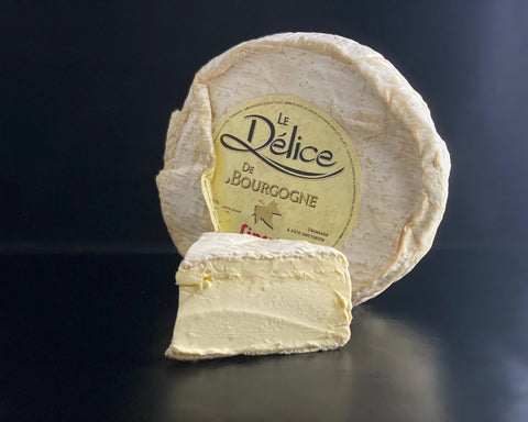 Matthew's Cheese: French Le Delice de Bourgogne - 250g