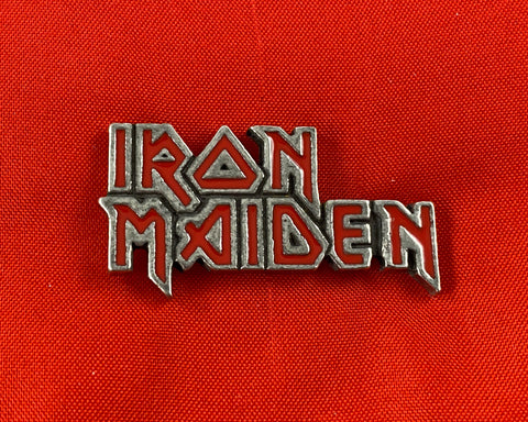 Let it Be - Music Merch: Iron Maiden Enamelled Logo pin Badge