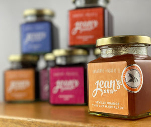 French Oven: Jean's Jams 'Seville Orange Thin Cut Marmalade'