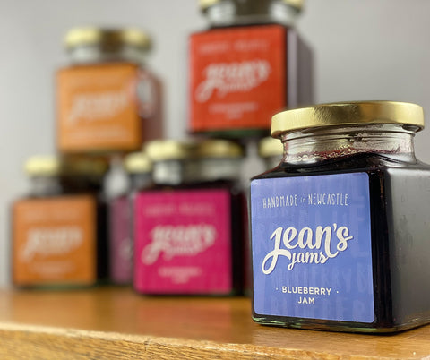 Northern Delicious: Jean's Jams 'Blueberry Jam'