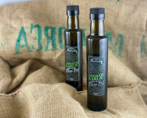 'Northern Delicious' : Northumbrian Smokehouse 'Smoked Garlic Extra Virgin Olive Oil'