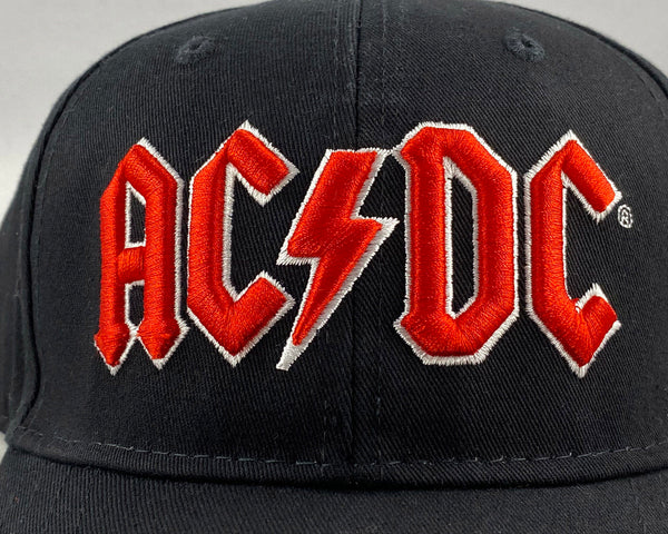 Let it Be - Music Merch: AC/DC Red embossed Logo