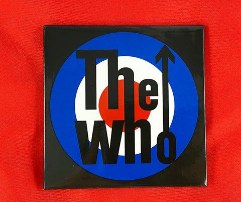 Let it be - Music Merch: THE WHO 'Target' Fridge Magnet - THE WHO Official Merch