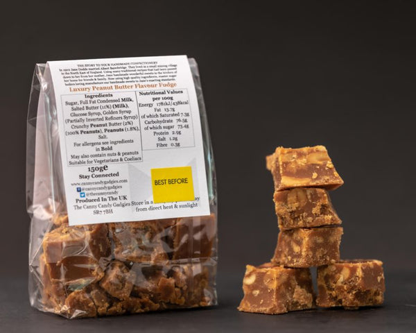 Northern Delicious : The Canny Candy Gadgies Peanut Butter Fudge