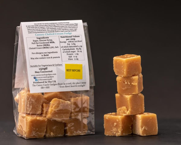 Northern Delicious : The Canny Candy Gadgies Clotted Cream Fudge