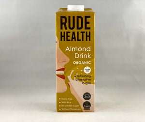 Nil Living - Almond Milk | Organic from Rude Health 1ltr
