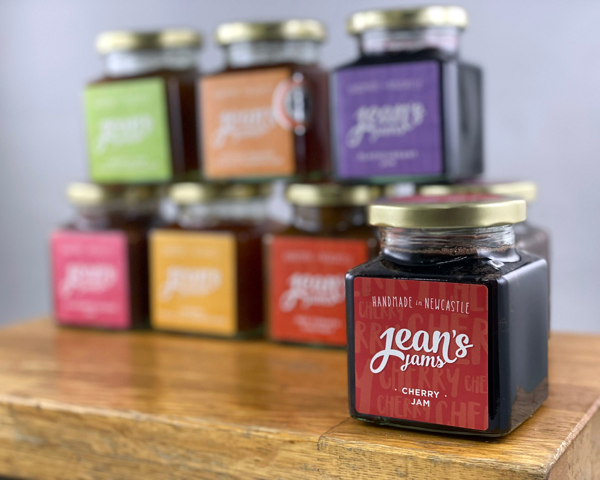 French Oven: Jean's Jams 'Cherry Jam'
