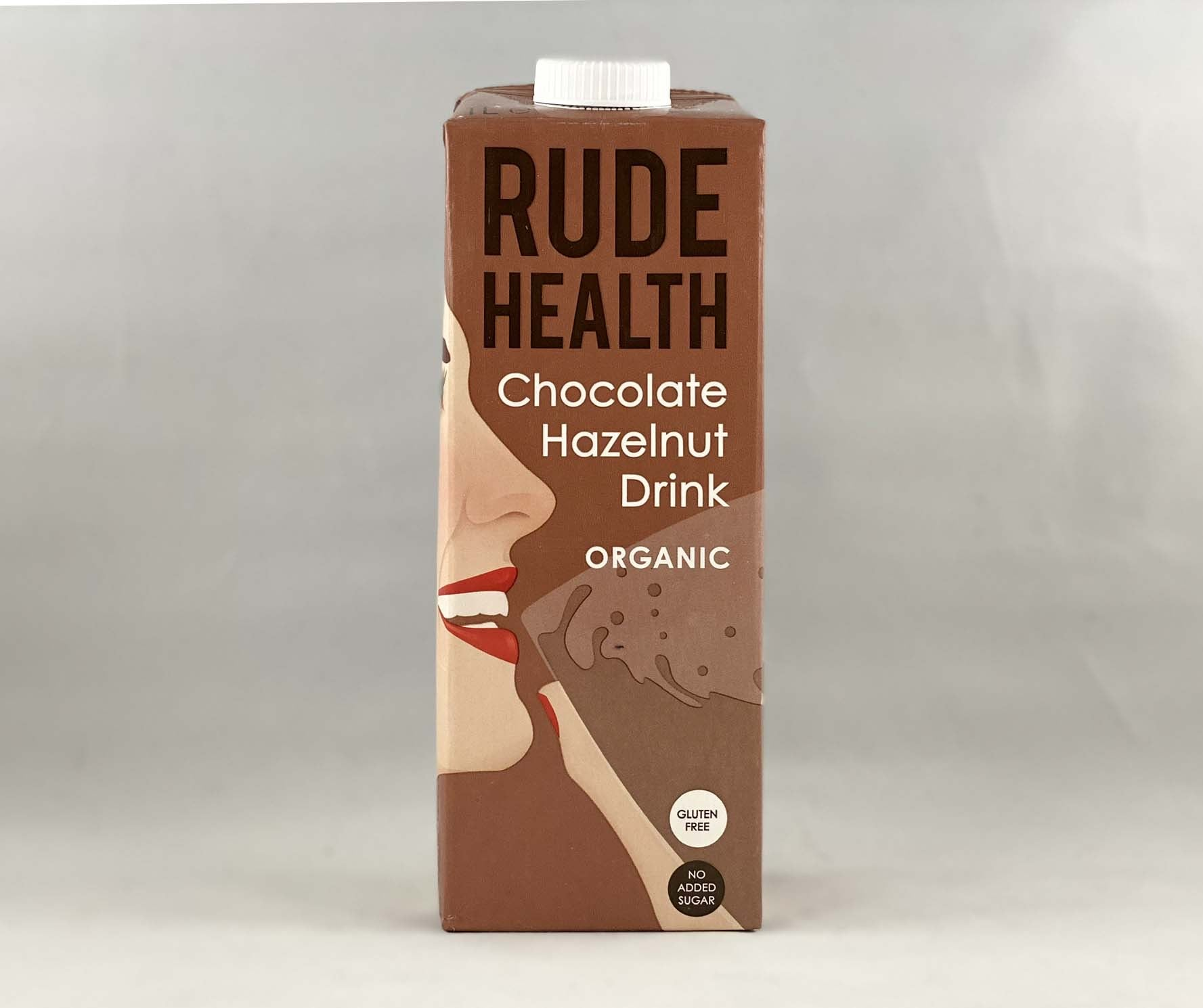 Nil Living - Hazelnut Chocolate Milk | Organic from Rude Health 1ltr