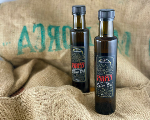 'Northern Delicious' : Northumbrian Smokehouse 'Smoked Chilli Extra Virgin Olive Oil'